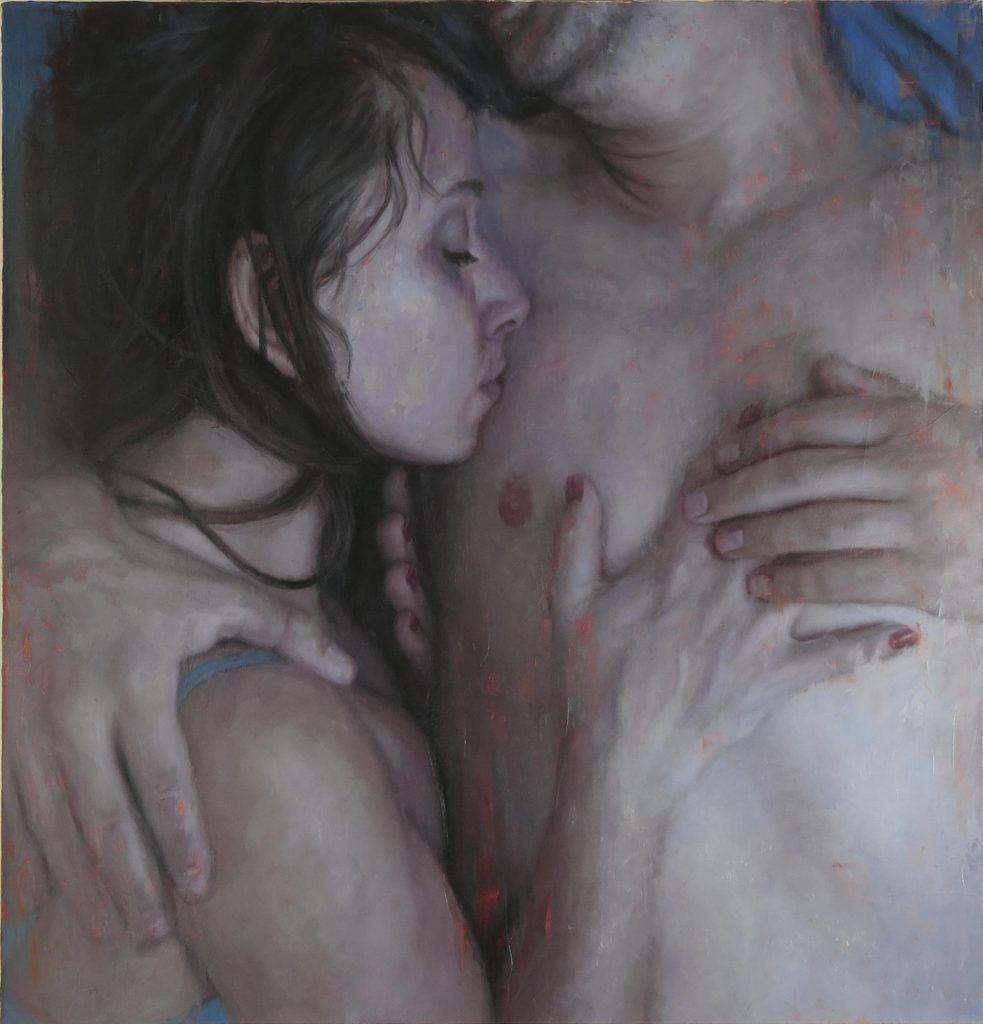 _Couple_ oil on canvas 50_x48_ by Michelle Doll
