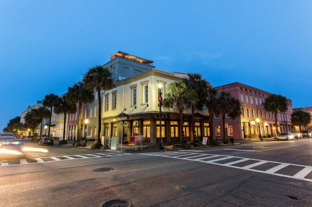 The Vendue In Historic Downtown Charleston