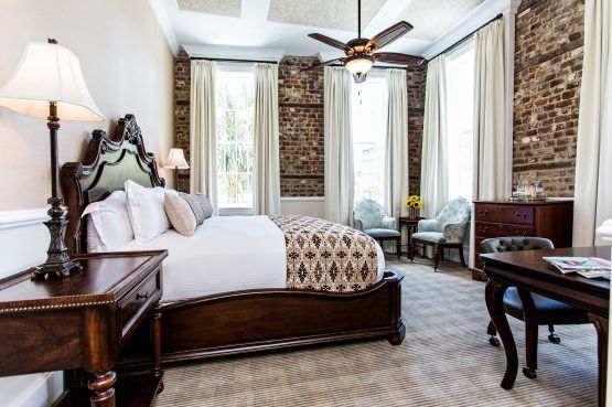 Premier King Charleston Hotel Rooms at The Vendue