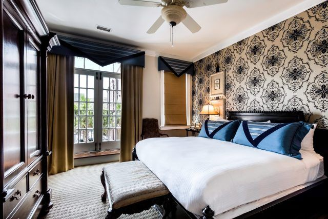 Signature King Hotel Room in Charleston, SC at The Vendue