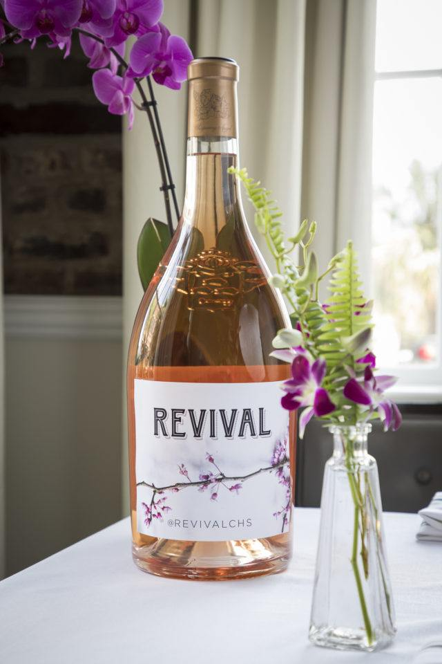 revival wine bottle