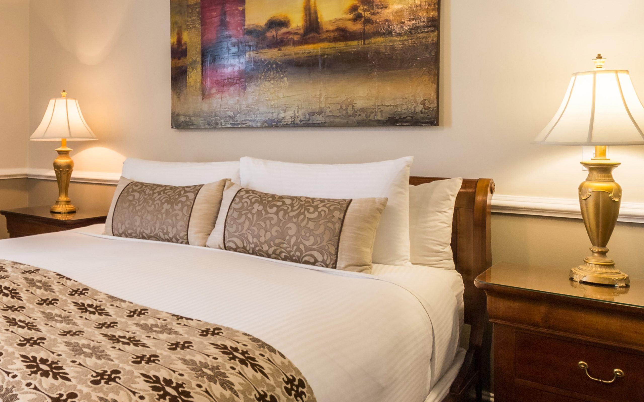 Junior Suite Hotel Rooms Charleston, SC at The Vendue