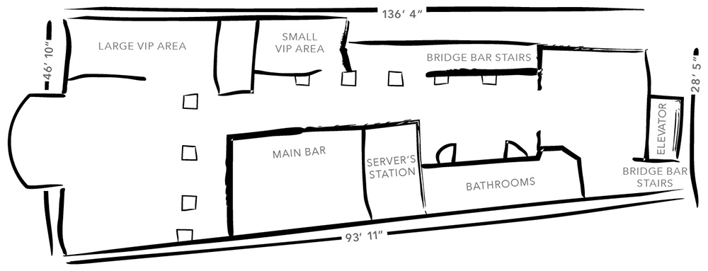 The Rooftop Floorplan