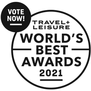 Vote Now! Travel + Leisure World's Best Awards 2021